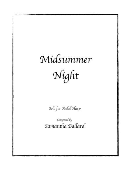 Midsummer Night - Harp Solo by Samantha Ballard