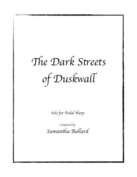 The Dark Streets of Duskwall - Pedal Harp Solo by Samantha Ballard