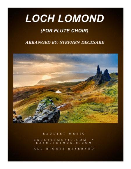 Loch Lomond (for Flute Choir)