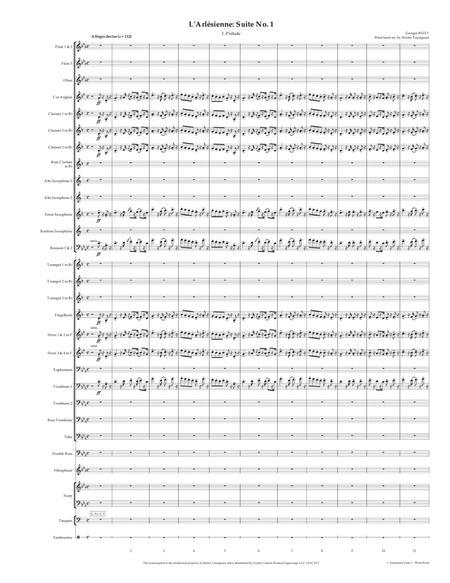 L'Arlesienne Suite No. 1 (Concert Band Transcription)