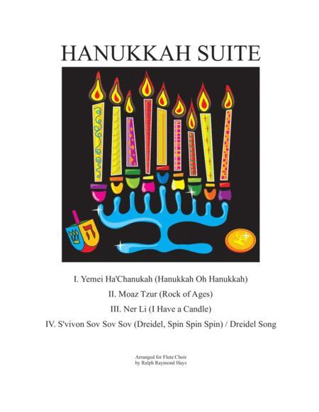Hanukkah Suite (for Flute Choir)