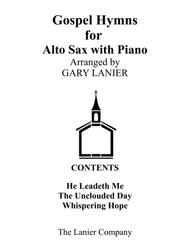 Gospel Hymns for Alto Sax (Alto Sax with Piano Accompaniment)
