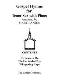 Gospel Hymns for Tenor Sax (Tenor Sax with Piano Accompaniment)