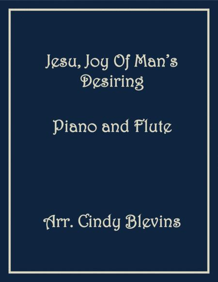 Jesu, Joy of Man's Desiring, arranged for Piano and Flute