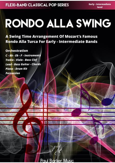 Mozart's Rondo Alla Swing (Flexi-Band Score & Parts)