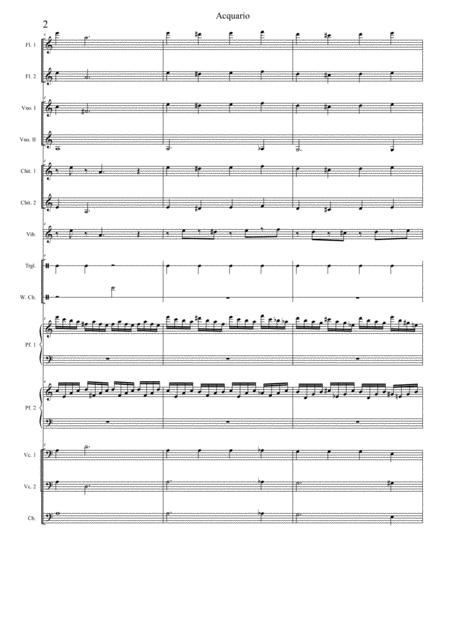 Preview Carnival Of The Animals: 7-Aquarium By C Saint-Saens (S0