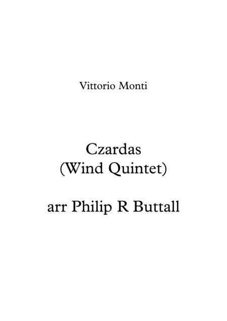 Czardas (Wind Quintet) - Score