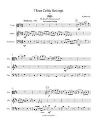 Three Celtic Settings for Viola, Oboe and Trombone