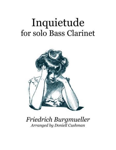 Inquietude for Bass Clarinet