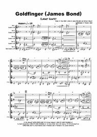 Goldfinger - James Bond - Clarinet Quintet