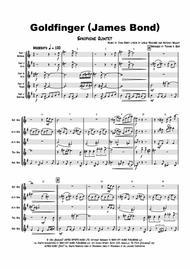 Goldfinger - James Bond - Saxophone Quintet