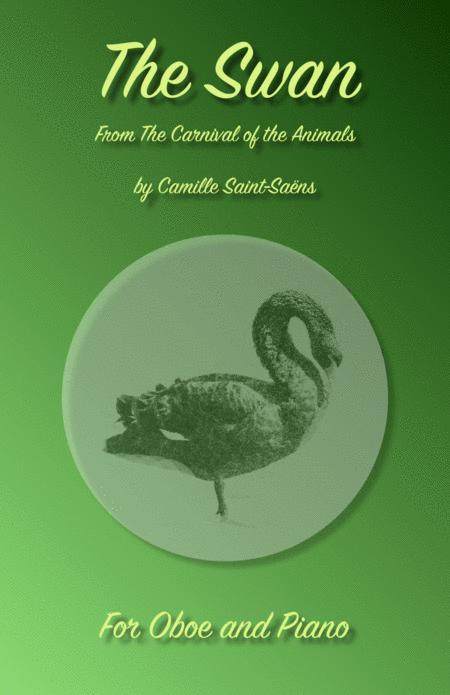The Swan, (Le Cygne), by Saint-Saens, for Oboe and Piano