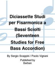 Diciassette Studi per Fisarmonica a Bassi Sciolti