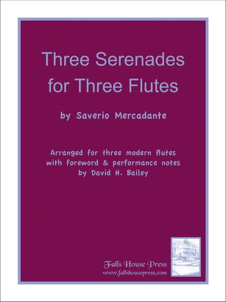 Three Serenades for Three Flutes