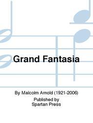QT7 Clarinet and Piano Malcolm Arnold Set Score /& Parts Grand Fantasia  Flute