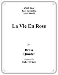 La Vie En Rose for Brass Quintet