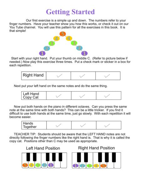 Preview Fast Start - Finger Olympiad (Beginning Piano) By