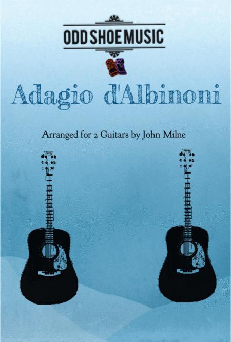 Albinoni Adagio for 2 guitars