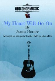 My Heart Will Go On (Love Theme from Titanic) for Solo Guitar