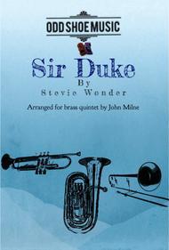 Sir Duke for Brass Quintet