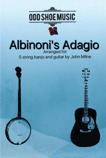 Albinoni's Adagio for 5 string Banjo and Guitar