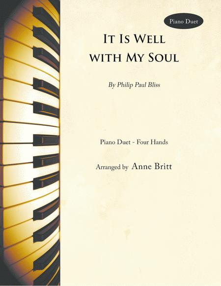 It Is Well with My Soul (piano duet)