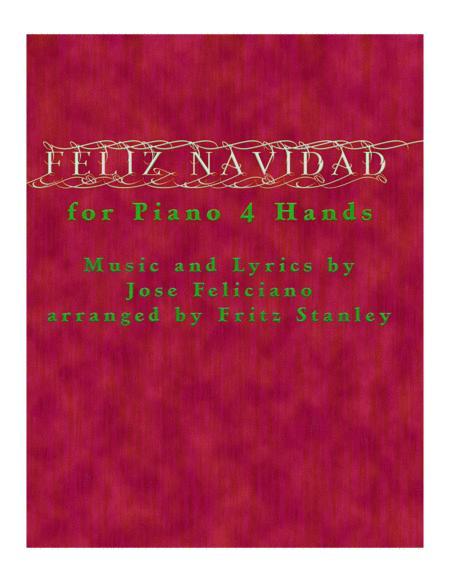 Feliz Navidad - Piano Four Hands