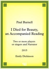 I Died for Beauty, an Accompanied Reading
