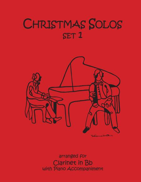 Christmas Solos for Clarinet & Piano Set 1
