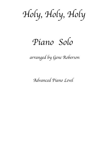 Holy, Holy, Holy  Piano Solo