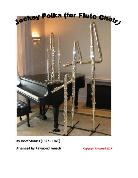 Jockey Polka - For Flute Choir