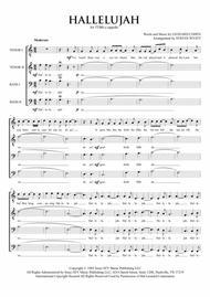 Hallelujah for TTBB a cappella
