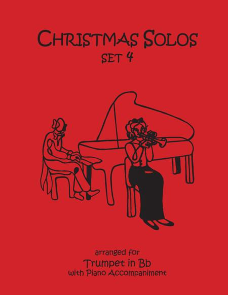 Christmas Solos for Trumpet & Piano Set 4