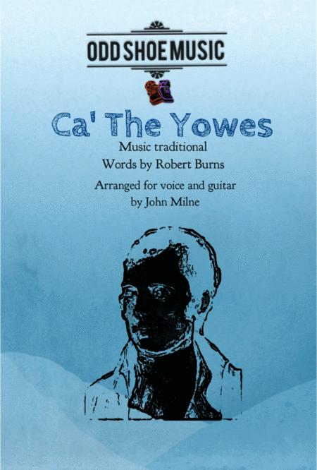 Ca' The Yowes for vocal and guitar
