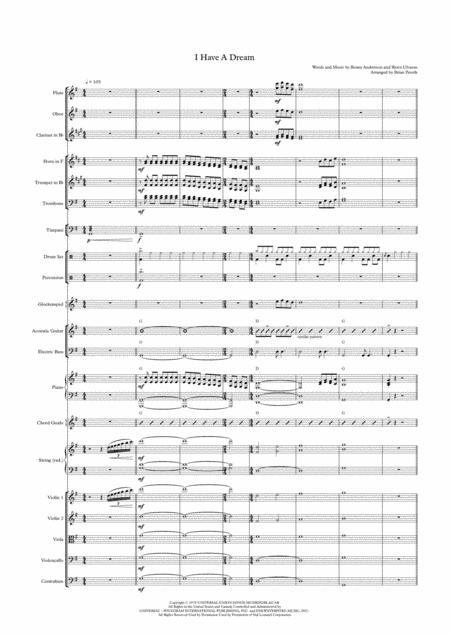 I Have A Dream - Ensemble Supplement