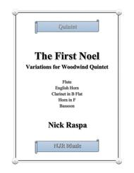The First Noel (Variations for Woodwind Quintet) Full Set