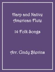 Download Harp And Native American Flute, 14 Folk Songs Sheet