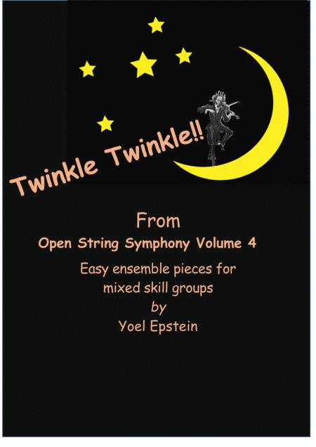 Twinkle Twinkle Little Star - Easy Ensemble pieces for mixed skill level violinists