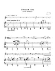 Echoes of Time (violin and piano)