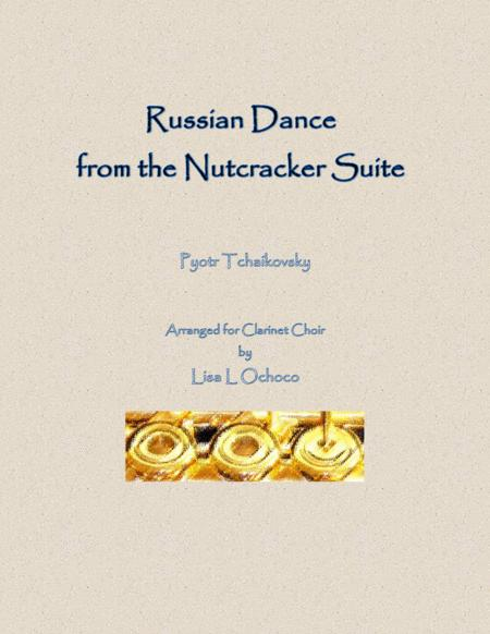 Russian Dance from the Nutcracker Suite for Clarinet Choir