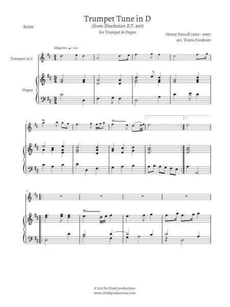 Trumpet Tune (Z.T. 697)
