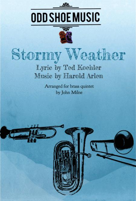 Stormy Weather for brass quintet