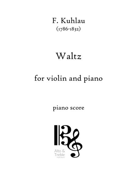 Waltz for Violin and Piano