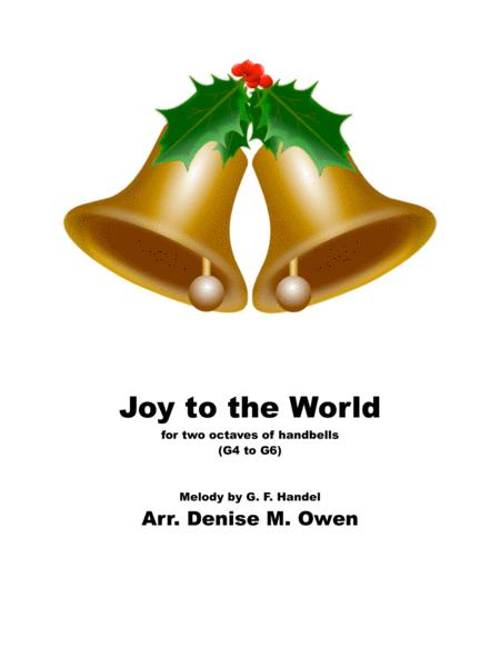 Joy to the World (for two octaves of handbells G-g)