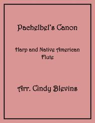 Pachelbel's Canon, arranged for Harp and Native American Flute, from my book