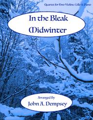 In the Bleak Midwinter (Piano Quartet for Two Violins, Cello and Piano)