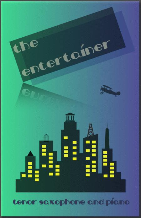 The Entertainer by Scott Joplin, for Tenor Saxophone and Piano