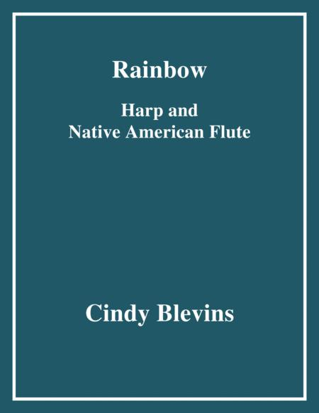 Rainbow, arranged for Harp and Native American Flute, from my book