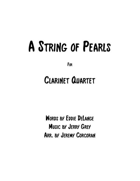 A String Of Pearls for Clarinet Quartet