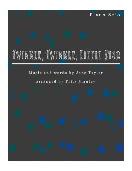 Twinkle, Twinkle, Little Star - Piano Solo